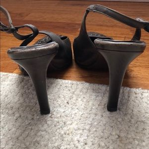 CHANEL Shoes - Chanel Brown slingback heels shoes size 38 8